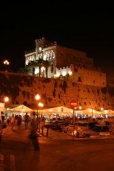 Ciutadella de Menorca at night