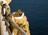 Cova Den Xoroi in Cala En Porter, Menorca Balearic Islands