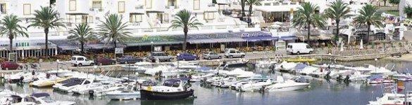 Cala en Bosch in Ciutadella de Menorca