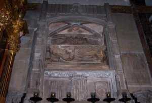 Tomba de Ramón Llull, a l'esglèsia de Sant Francesc a Palma