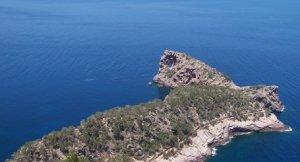 Sa Foradada a la Serra de Tramuntana de Mallorca
