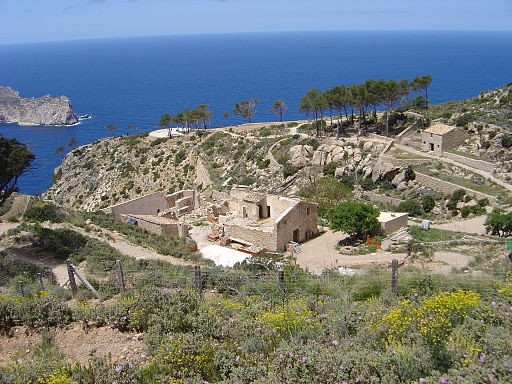 La Trapa a la Serra de Tramuntana de Mallorca