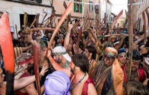 Moros i cristians de Pollença - Festa de la patrona
