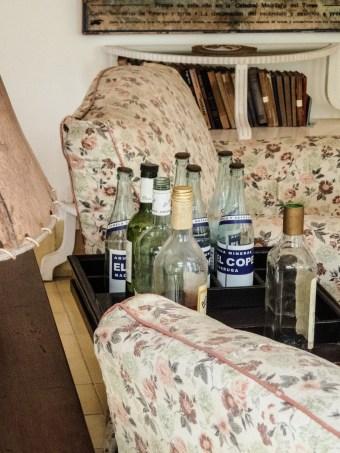 Hemingway's bottles of alcohol