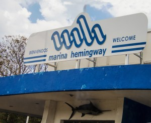 Entrance to Marina Hemingway