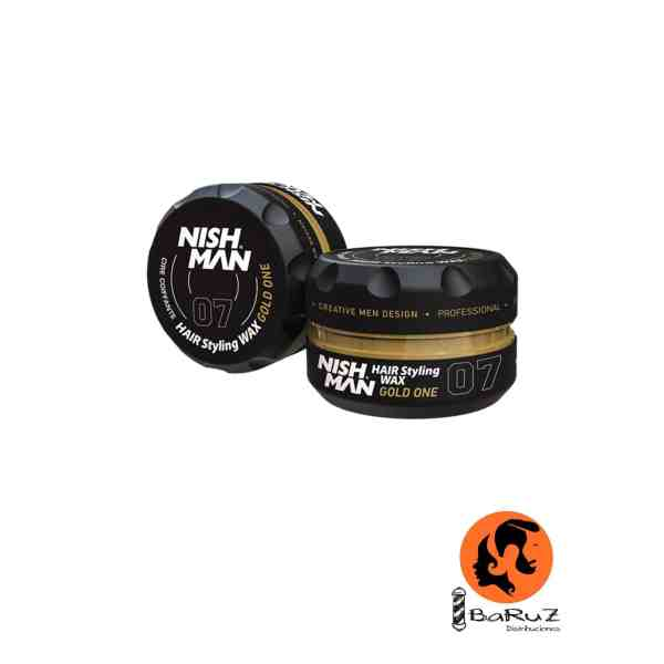 NISHMAN Hair Wax 07 Gold One