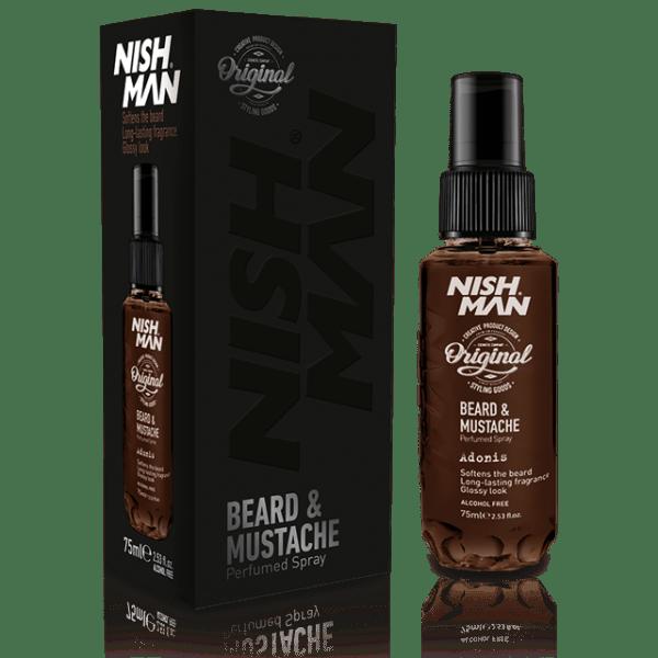 Nishman Beard Moustache Spray Perfume Adonis