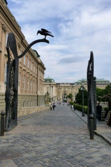 Buda Castle 'raven's gate'