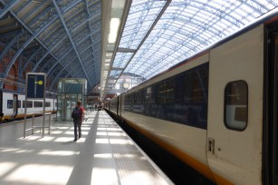 London to Brussels service at St Pancras