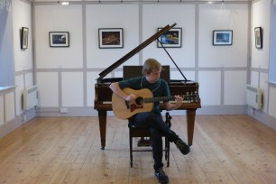 Hubby's photo exhibition and the launch of the Music Room in Eynsham 2015