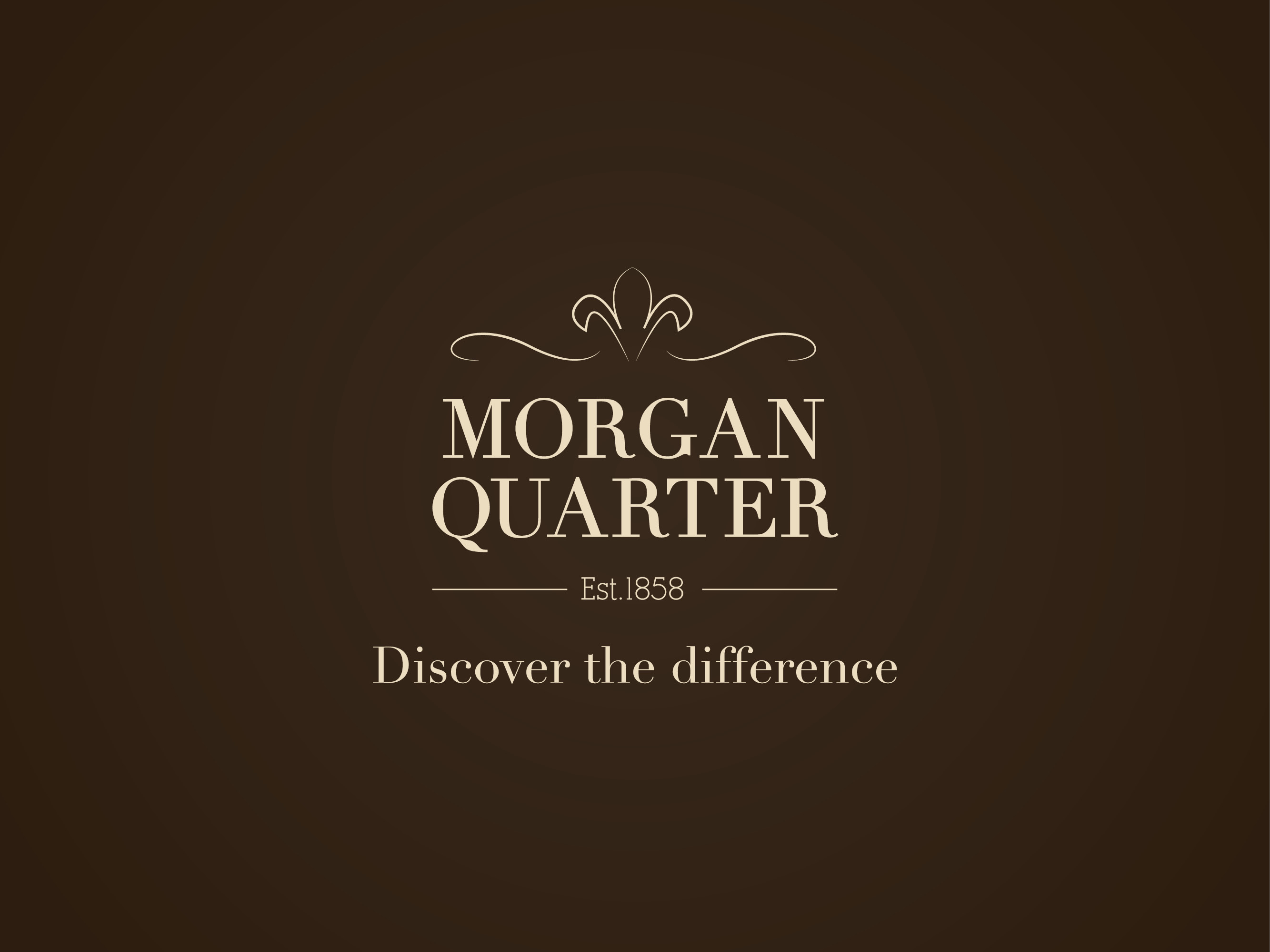 Morgan quarter luxury shopping Cardiff logo design