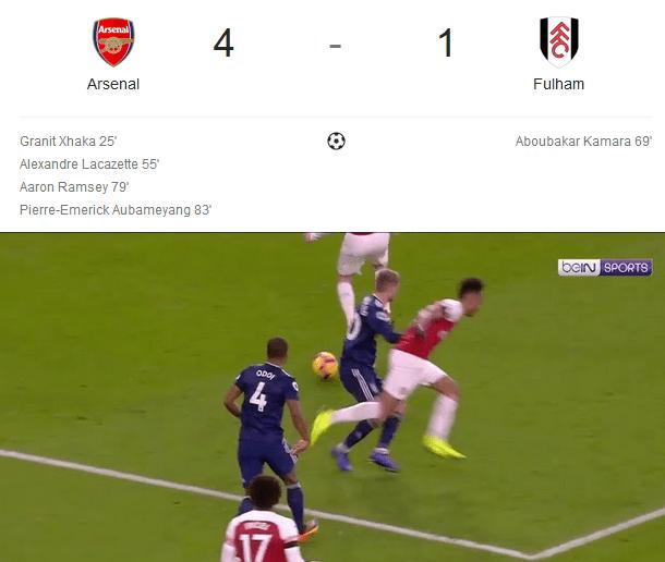 Arsenal Menang Telak Dari Fulham Di Liga Inggris Awal Tahun 2019