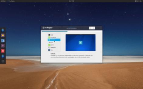 Antergos Modern Linux Distribution