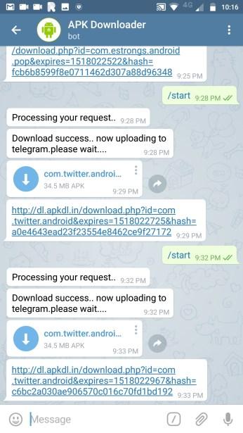 APK Downloader Bot