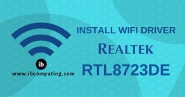 How to Install WiFi Driver for RTL8723DE