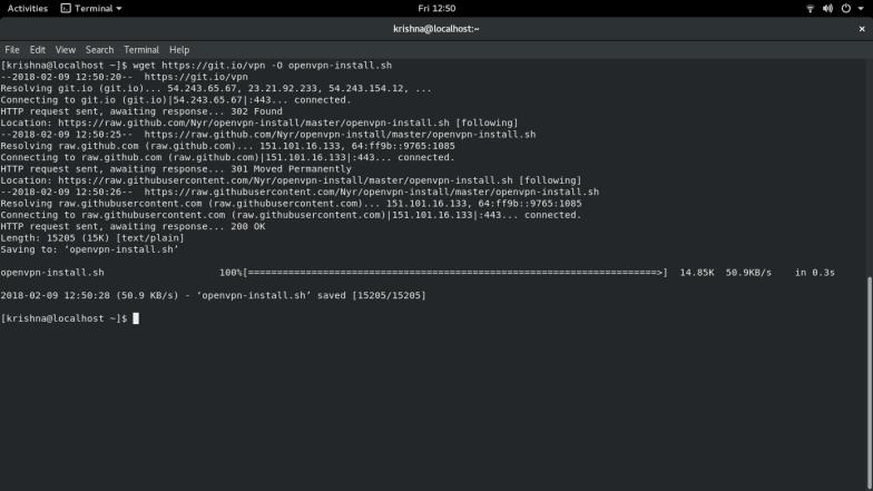 OpenVPN Setup - Installation script