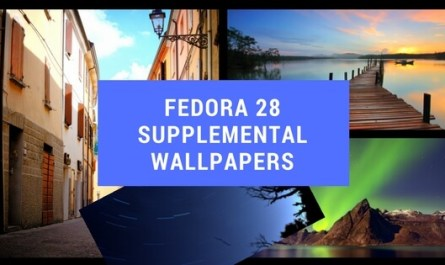 Fedora 28 Supplemental Wallpapers