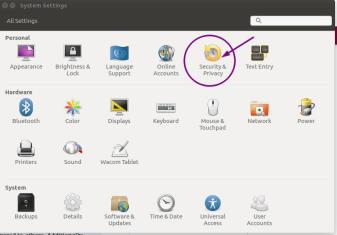 Old Privacy Settings - Ubuntu 18.04 Bionic Beaver Beta Improvements