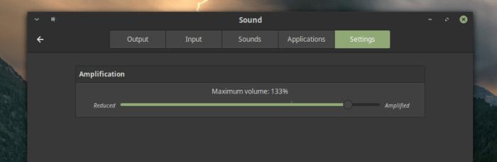Volume Control Mint 19