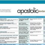 Apostolic Calendar - June 2017