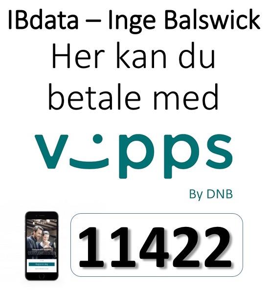 IBdata - Inge Balswick - Vipps