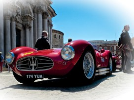 May - the Mille Miglia
