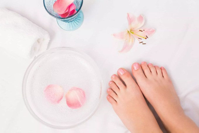 after getting pedicure - beautyguide