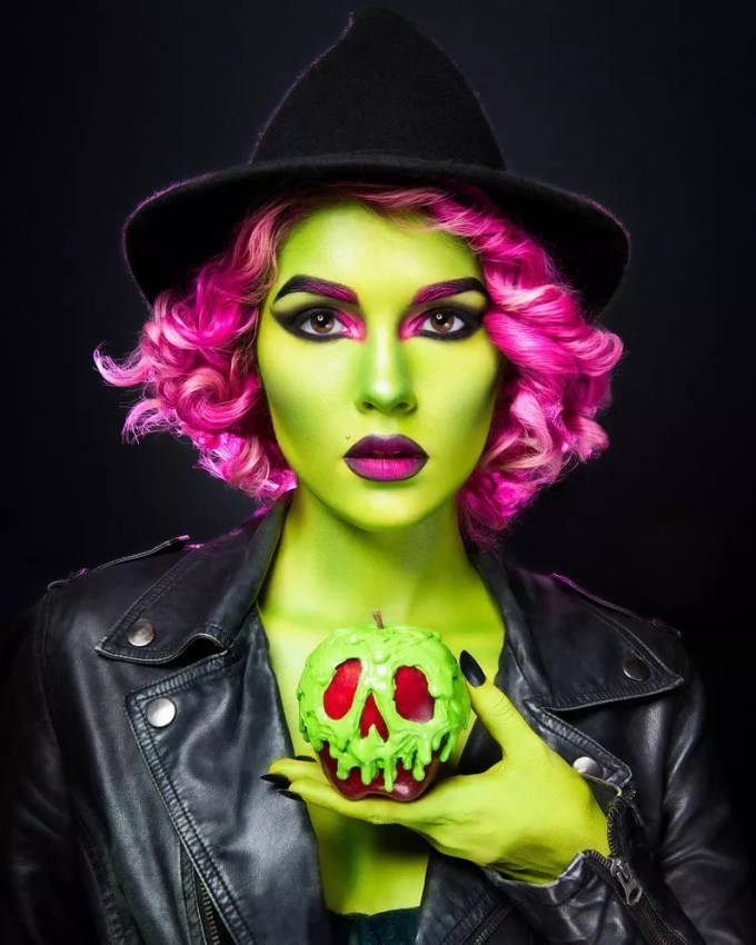 Green wicked witch