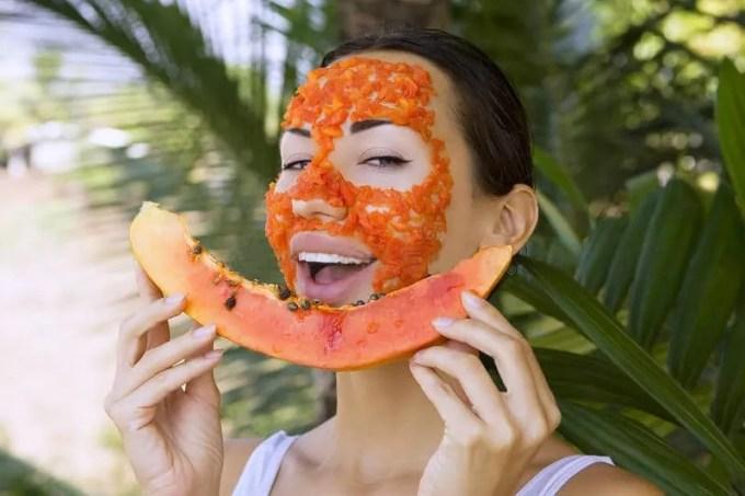 papaya for hair removal