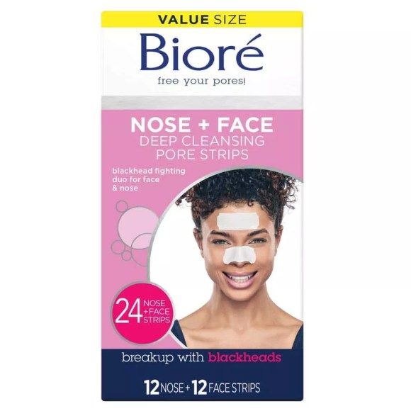 Bioré Nose Face, Deep Cleansing Pore Strips