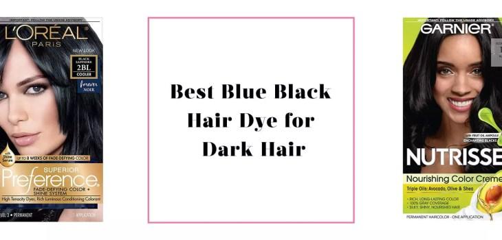 Best Blue Black Hair Dye for Dark Hair feature