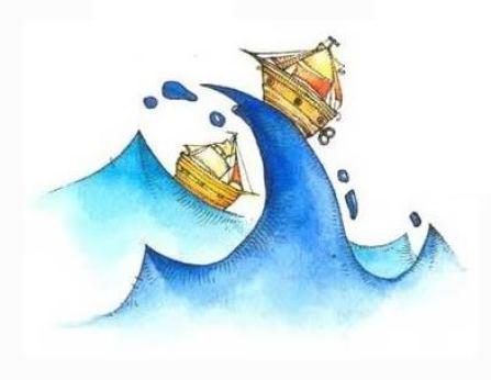 Imagen: imaginando en un bote surcando el mar