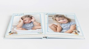 Guarda los primeros recuerdos de tu bebé en un álbum de fotos
