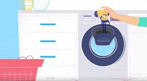 AddWash, así es la nueva lavadora de Samsung
