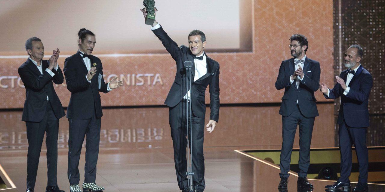 Banderas gana su primer premio Goya como actor