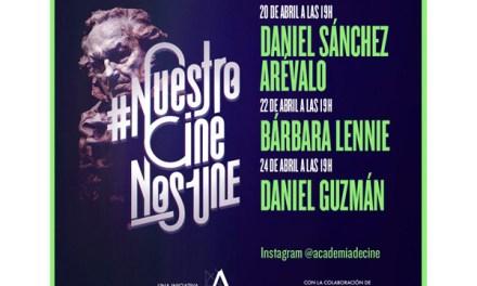 Covid-19: Inicia el segundo mes de#NuestroCineNosUne