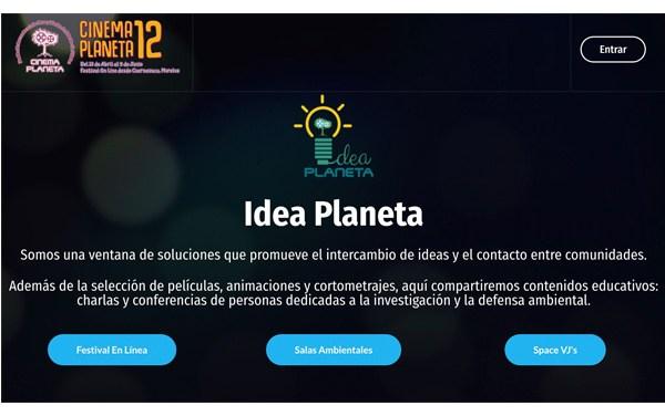 """Lanzan """"Idea planeta"""", plataforma de soluciones ambientales a través del cine"""