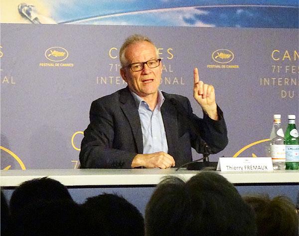 """Cannes estudia crear sello """"Cannes 2020"""" para apoyar a películas"""