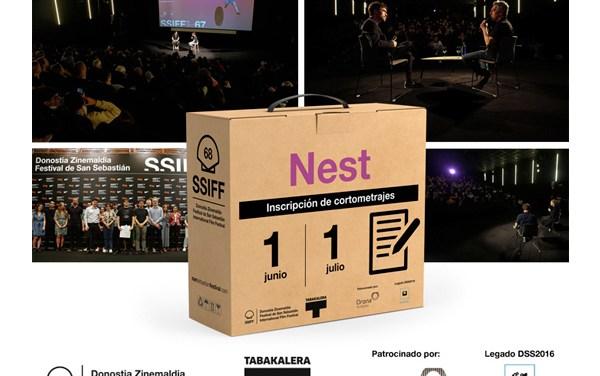 """Cortos: San Sebastián abrirá inscripción de """"Nest"""" el 1 de junio"""