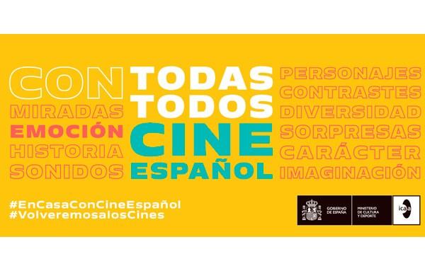 """Lanza ICAA campaña """"Con todas, con todos, con cine español"""""""