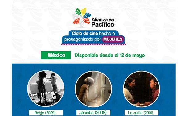 México inaugura ciclo «online» de cine hecho o protagonizado por mujeres