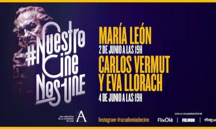 María León, Carlos Vermut y Eva Llorach esta semana en#NuestroCineNosUne