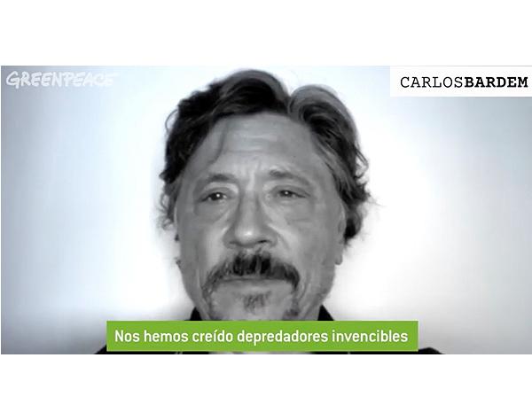 Apoyan actores españoles campaña de Greenpeace
