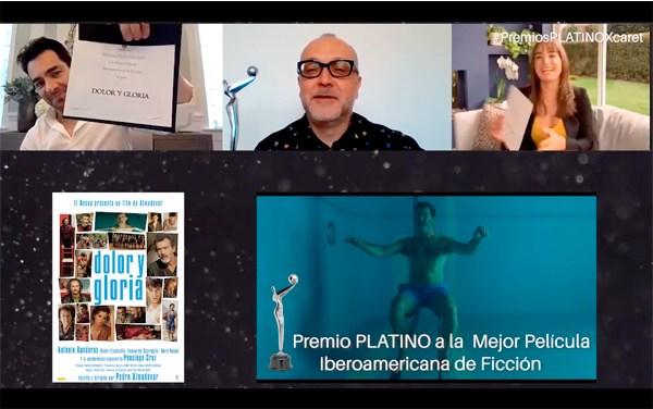 """""""Dolor y gloria"""" de Almodóvar Gran ganadora de los Platino"""
