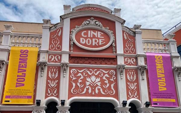 Reabre cine Doré, el más antiguo de España en activo
