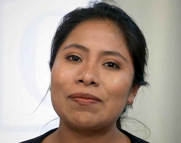 Actriz mexicana Yalitza Aparicio (Roma) se une a campaña contra racismo