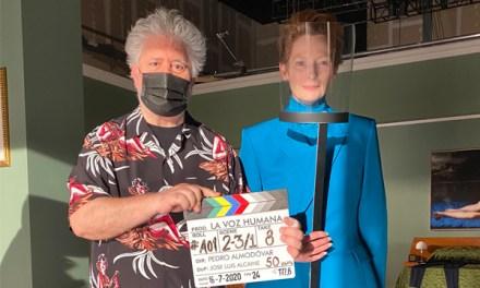 Almodóvar inicia rodaje de corto en inglés con Tilda Swinton