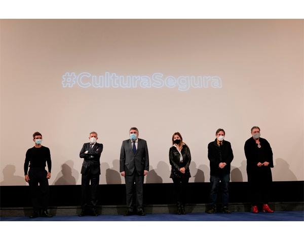 España lanza campaña #CulturaSegura para reactivar al sector
