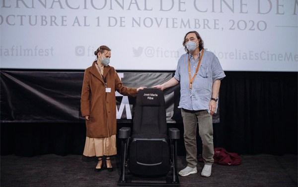 Festival de Morelia rindió homenaje a José María Riba