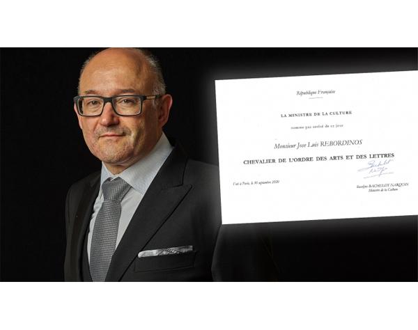 José Luis Rebordinos recibe distinción honorífica de Francia